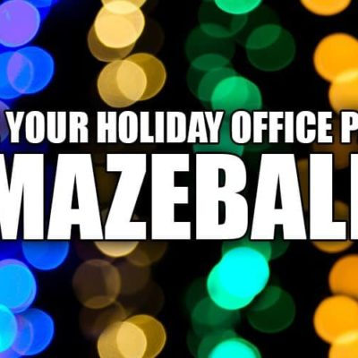 5 Tactics to Help Make Your Holiday Office Party Amazeballs