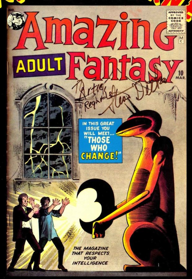 Amazing Fantasy Issue #10