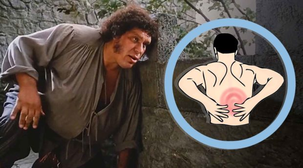 Andre The Giant Back Pain