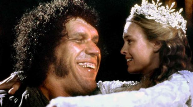 Andre The Giant and Robin Wright