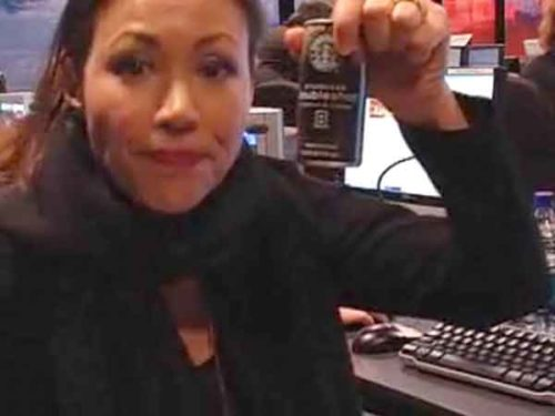 Ann Curry Drinks A Lot Of Coffee At Nbc News