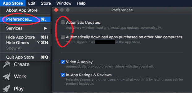 How To Disable Automatic Mac App Store Updates