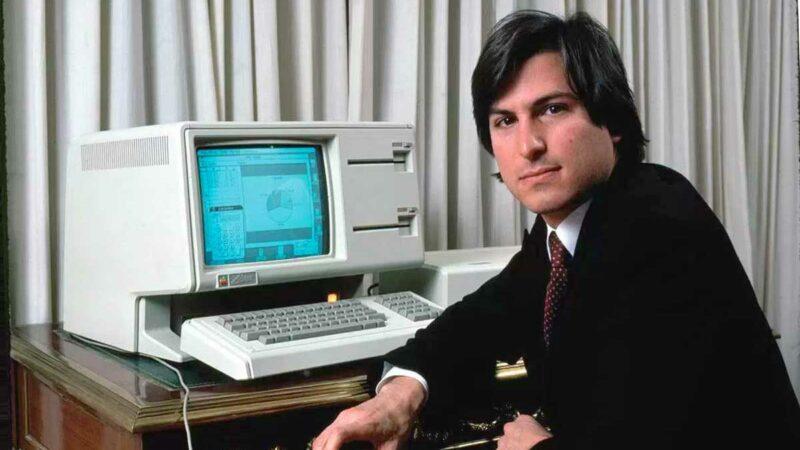 Apple CEO Steve Jobs and The Apple Lisa Computer