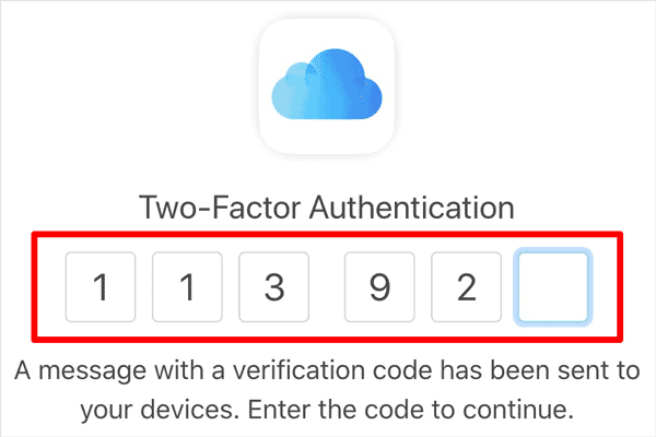 Apple Icloud Two-Factor Authentication Check