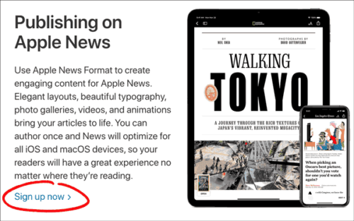 How To Submit To Apple News - Tutorial For Bloggers