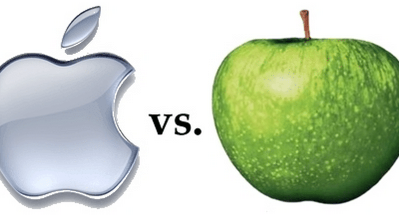 Apple vs Apple Records