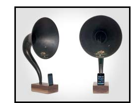 iPhone Gift: iVictrola iPhone Phonograph Product Image