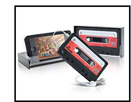 iPhone Gift: Cassette Tape iPhone Cover & Case Product Image