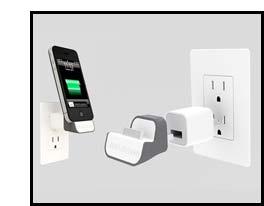 iPhone Gift: Blue Lounge Minidock Product Image
