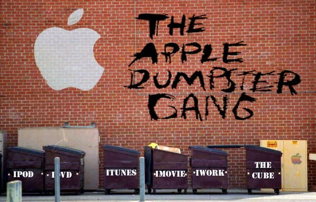 The Apple Dumpster Gang