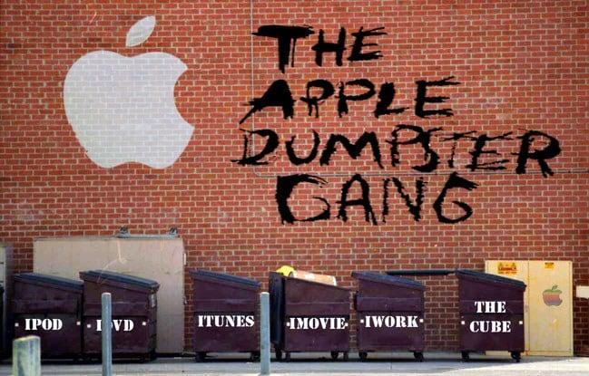 The Apple Dumpster Gang