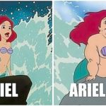 Ariel Bold vs Arial Bold
