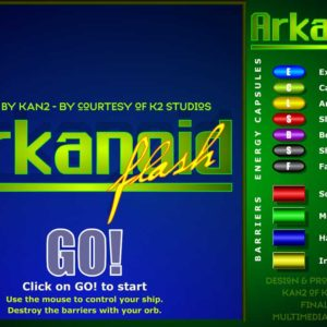 Arkanoid Online - Play The Student Homebrew Version