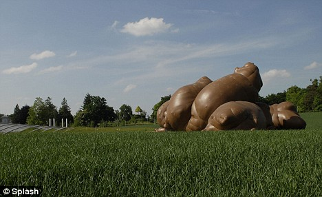 Paul McCarthy's Inflatable Poop Installation Makes A Mess In Switzerland