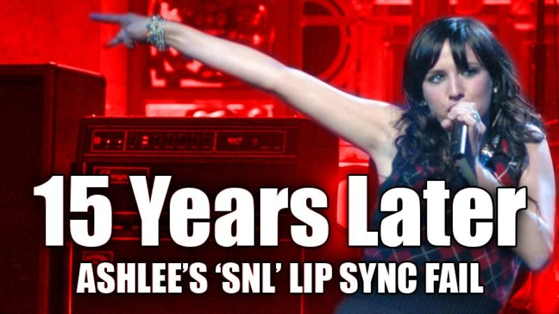 Ashlee Simpson's Lip Sync Fail 15 Years Later