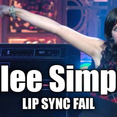 Ashlee Simpson's 'SNL' Lip Sync Fail