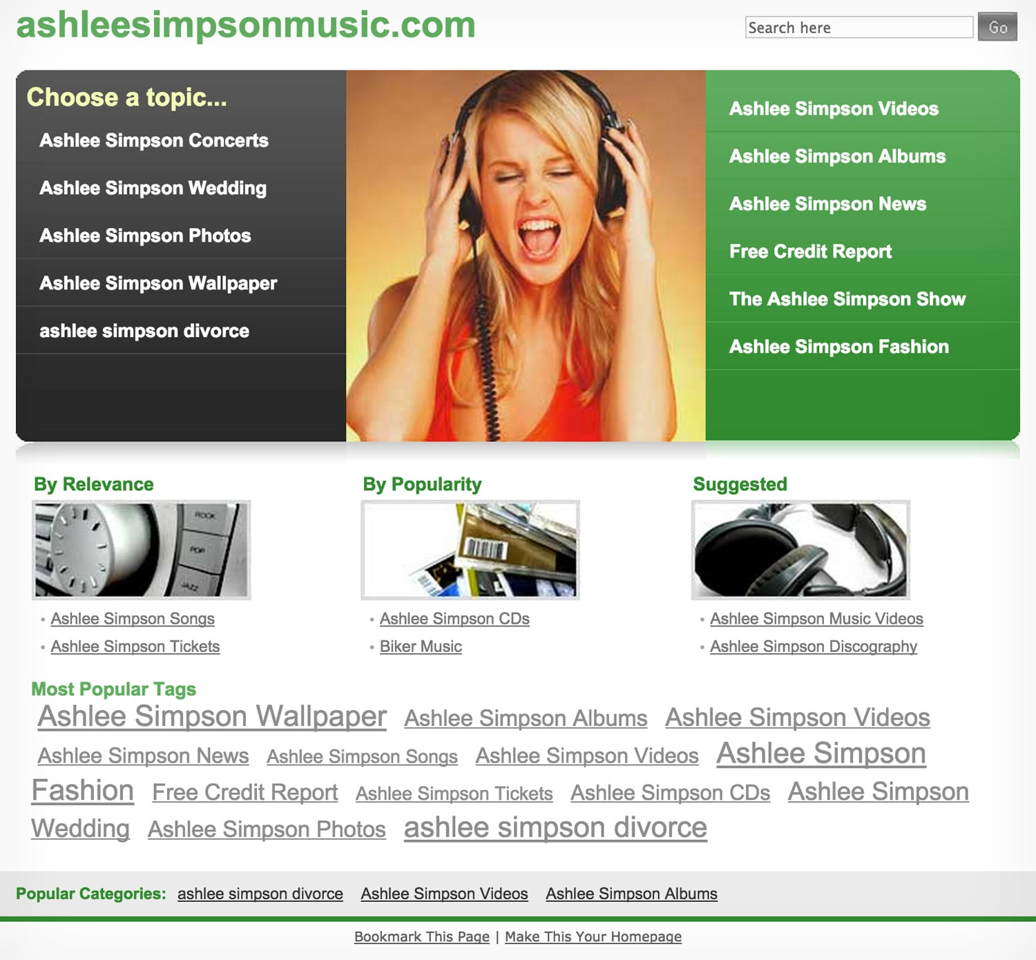 Ashleesimpsonmusic.com