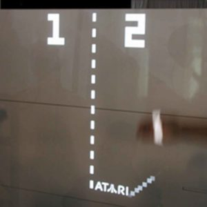 Atari Showcases Touch-Sensitive Pong Wall at Nextfest (2006)