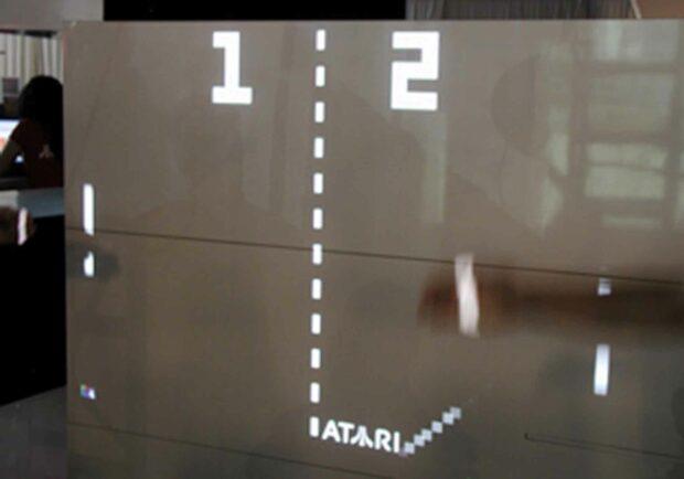 Atari Pong Wall