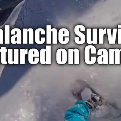 avalanche gopro footage