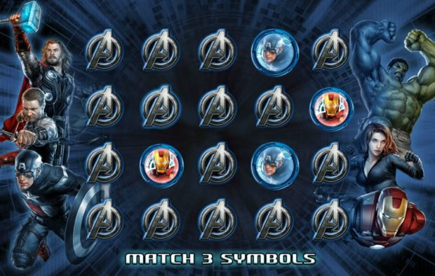 The Avengers slots game - Marvel Casino Games