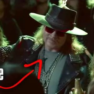 Awkward Looking Axl Rose in World Cup Budweiser Beer Commercial