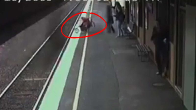 Baby Stroller Train Accident in Australia