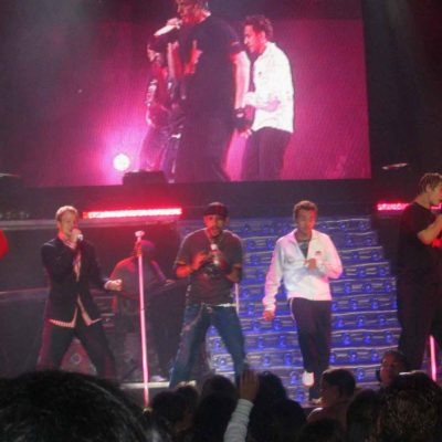 The Backstreet Boys concert in Vancouver in 2005