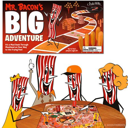 Mr. Bacon Board Game