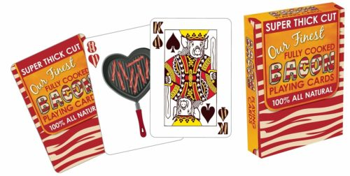 Bacon Playing Cards - Funny Bacon Lovers Gifts