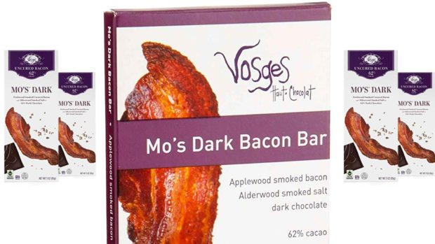 Mo's Dark Chocolate Bacon Bar