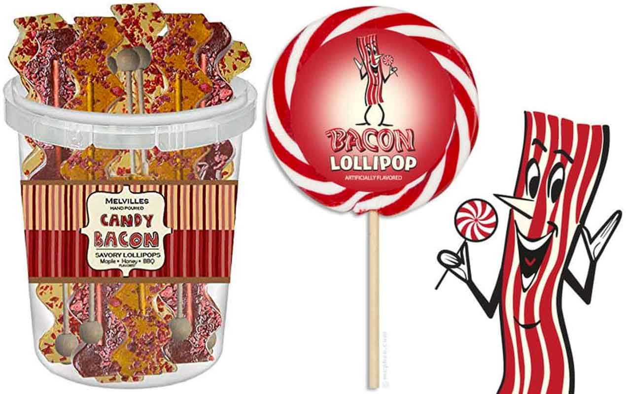 Bacon Lollipops - Funny Bacon Gifts