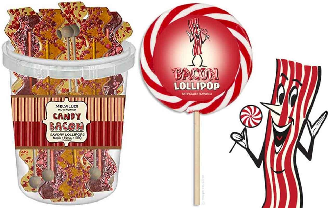 Bacon Lollipops