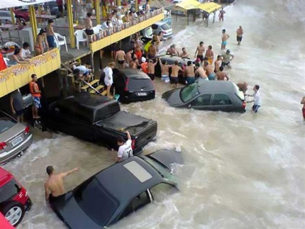 Ocean Parking Lot - People Having A Worse Day Than You