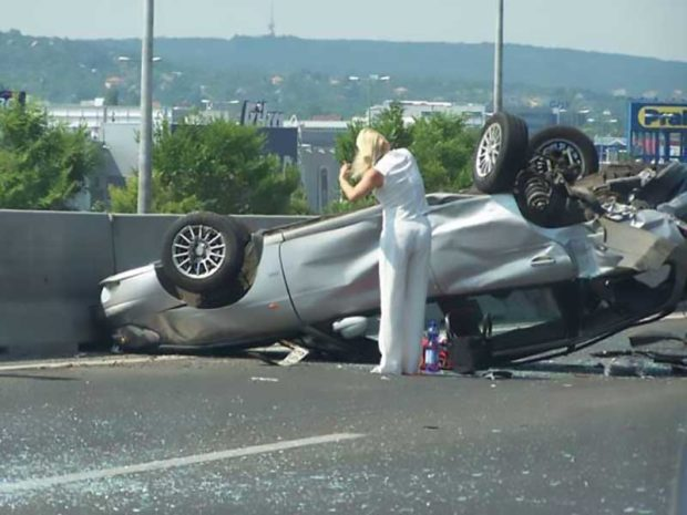 Your Car Is Upside Down - People Having A Worse Day Than You