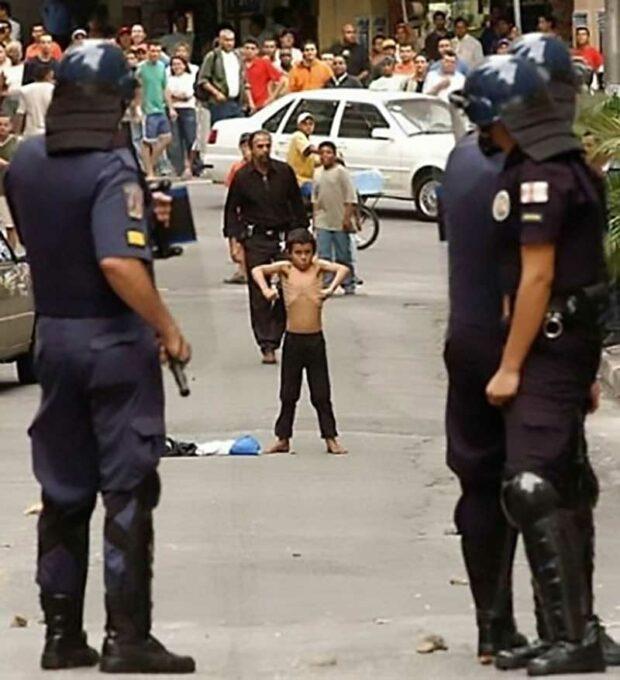 Kindergartener Vs Cops