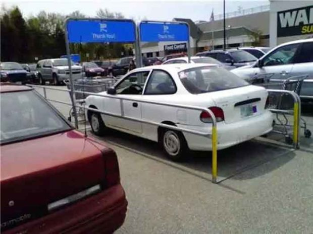 Walmart Shopping Cart Parking - Car Parking Fails