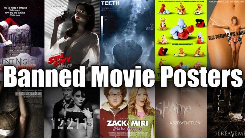 Banned Movie Posters