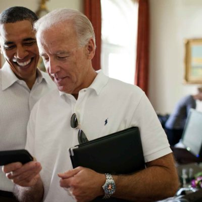 Barack Obama & Joe Biden Texting