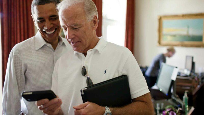 Barack Obama & Joe Biden Texting