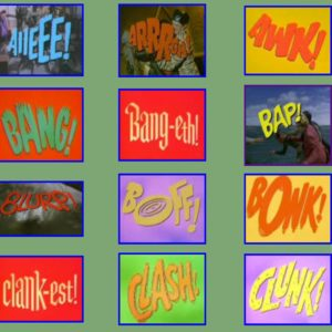 Boff! Bonk! Pow! - The Story Behind The Cheesy Batman Fight Words From The 1966 TV Series