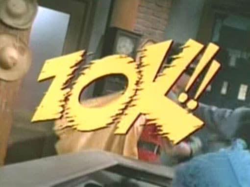 &Quot;Zok!!&Quot; - An Example Of How Batman Fight Words Were Used In The 1966 Batman Tv Series