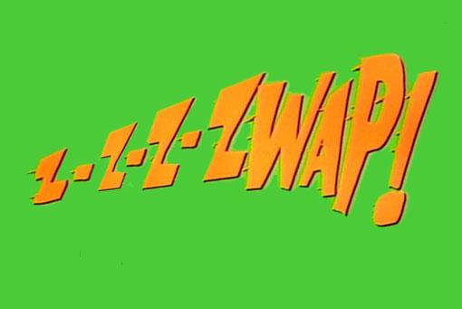 Zzzzwap! - Batman Fight Words