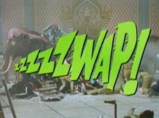 Zzzzzwap! - Batman Fight Words