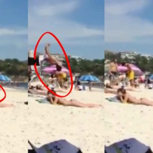 The Smoothest Way To Get The Attention Of A Girl At The Beach