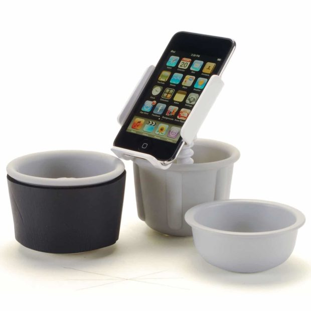 Belkin TuneDok Cupholder for iPod (White)