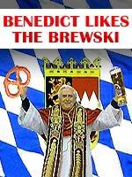 Pope Benedict Likes Beer