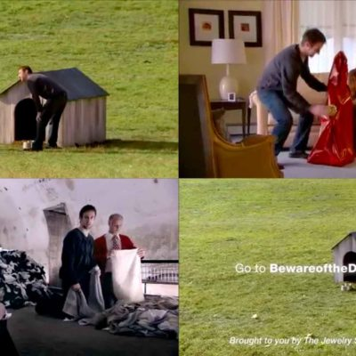 Beware Of The Doghouse! - Hilarious JC Penney Commercial