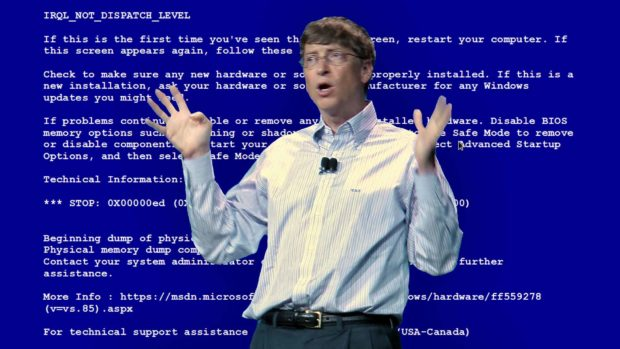 Bill Gates Bsod