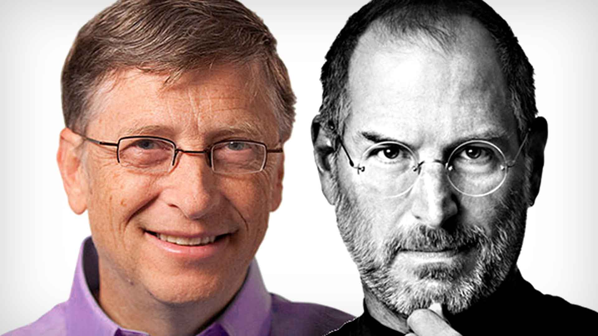 Image result for Steve Jobs vs Bill Gates